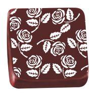 Transfer para Chocolate (40 x 30cm) - Rosinha Branco