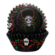 Deadly Soiree Mini Baking Cups - Wilton