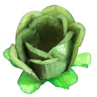 Forminha Flor para Doces (40 uni) - Pistache Claro