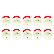 Enfeite de Natal em Açúcar Papai Noel (10uni) - Jady Confeitos