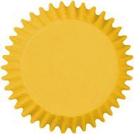 Forminha para Cupcake Mago (45uni) - Amarelo Girassol
