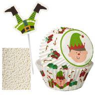 Kit Cupcakes Elfo - Wilton