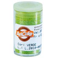 Pó Brilhante para Acabamento ArtCake - Verde