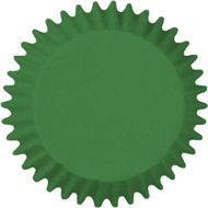 Forminha para Cupcake Mago (45uni) - Verde bandeira