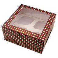 Caixa Pois - 4 Cupcakes (5 uni)