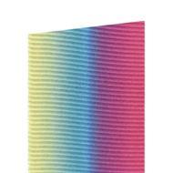 Fita Gorgurão Degradê Arco-íris (3,8cm x 10m) - Progresso