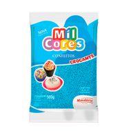 Confeito Miçanga Mil Cores n°0 (500g) - Azul