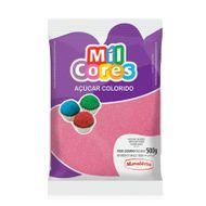 Açúcar Rosa para Decoração (500g) - Mil Cores