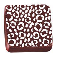 Transfer para Chocolate (40 x 30cm) - Onça Branco