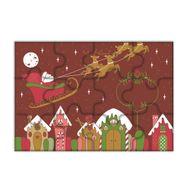 Blister Quebra Cabeça Chocolate Cenários de Natal - Stalden