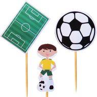 Enfeite Futebol (12uni) - Papel Confeito