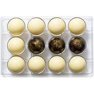 Forma de Chocolate em Policarbonato Esfera (5cm) - Decora