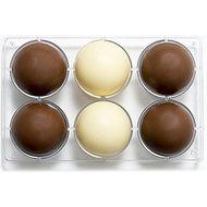 Forma de Chocolate em Policarbonato Esfera (7,5cm) - Decora