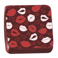 Transfer para Chocolate (40 x 30cm) - Beijos