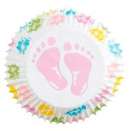Baby Feet Mini Baking Cups - Wilton