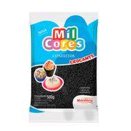 Confeito Miçanga Mil Cores n°0 (500g) - Preta