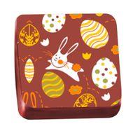 Transfer para Chocolate Páscoa 40 x 30cm - Ovos Coloridos