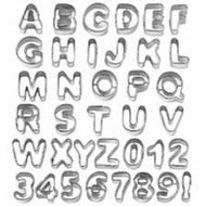 37 Pieces Alphabet & Number Cut-Outs - Wilton