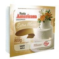 Pasta Americana Branca Sabor Avelã 800g - Arcolor