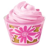 Pink Party Cupcake Wraps - Wilton