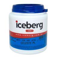Corante Hidrossolúvel em Pó (100g) Iceberg - Azul Celeste