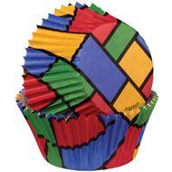 Forminha de Papel para Cupcake Colorblock - Wilton