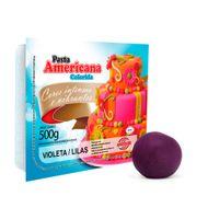 Pasta Americana Violeta/Lilás 500g - Arcolor