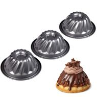 3 Pc Mini Fluted Pan Set - Wilton