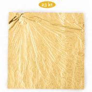 Ouro Comestível em Folha 23ki com 8,6 x 8,6cm (5uni) - Decora