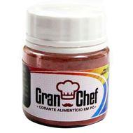 Corante Hidrossolúvel em Pó (5g) Vermelho - Gran Chef