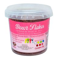 Decor Flakes Marrom (20g) - Mago