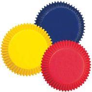 Forminha de Papel para Mini Cupcake Assorted Primary Colors - Wilton