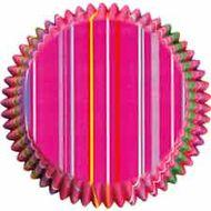 Forminha de Papel para Cupcake Snappy Stripes - Wilton