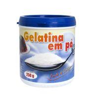 Gelatina em Pó Pura 180 Bloom (250g) - NP