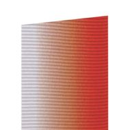 Fita Gorgurão Degradê Vermelho (3,8cm x 10m) - Progresso