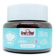 Corante Hidrossolúvel em Pó Candy Colors (30g) Blue Box - Gran Chef