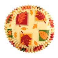 Autumn Leaves Standard Baking Cups - Wilton