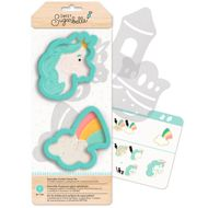 Kit Decoração de Biscoito Enchanted Unicórnio - Sweet Sugarbelle