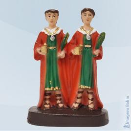 Imagem de São Cosme Damião em resina