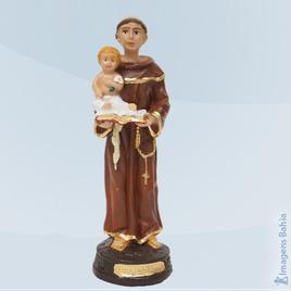 Imagem de Santo Antônio em resina
