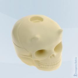 Imagem de Cranio Porta Vela (Preto)