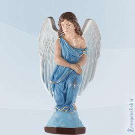 Imagem de Anjo Adorador direito roupa azul