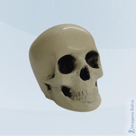 Imagem de Caveira Mini em resina com furo para guia