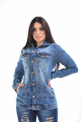 Max Jaqueta Feminina Jeans