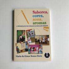 Livro Sabores, Cores, Sons e Aromas