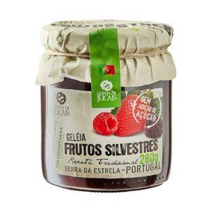 Geléia de Frutos Silvestres sem Açúcar
