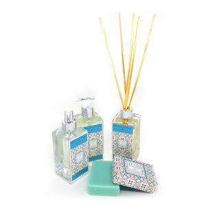 Difusor + Home Spray + Sabonete Líquido + Sabonete Barra Ervas do Mediterrâneo