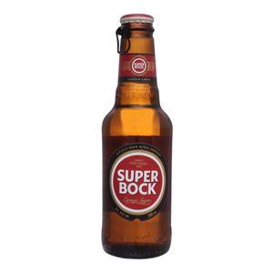 Cerveja Super Bock Lager 250ml (6 unid.)