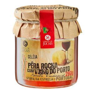 Geléia de Pêra-Rocha com Vinho do Porto