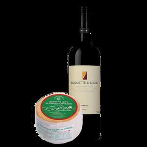 Combo Desejar Vinho + Queijo da Serra